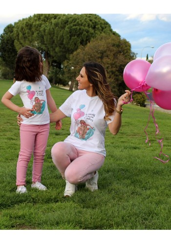 CAMISETA GIRL BALLOON