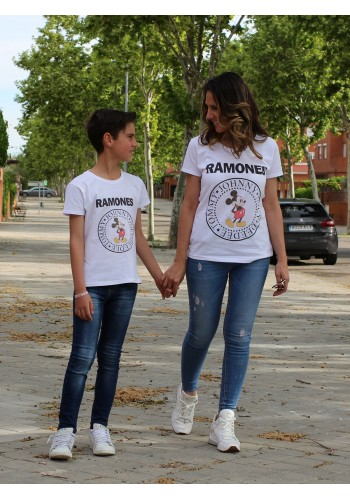 CAMISETA RAMONES JUNIOR